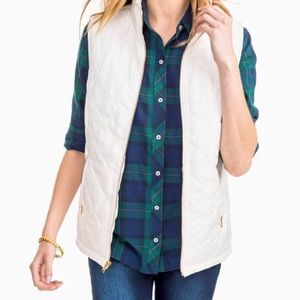 NWT Southern Tide Quilted Vest